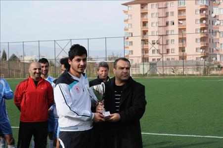 """Üniversitemiz """"Üniversitelerarası Futbol 2. Lig Grup Müsabakaları""""nda 3. Oldu"""
