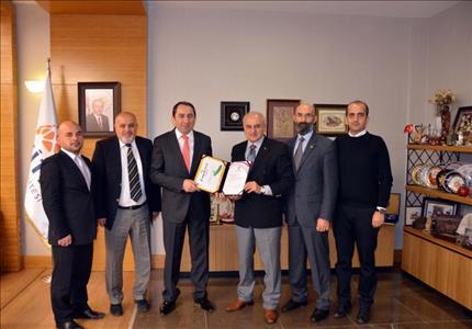 Türkiye Atletizm Federasyonundan Rektörümüze Teşekkür