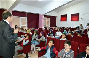 Rektörümüz Şehit Ali Karslı İmam Hatip Ortaokulu Öğrencileriyle Bir Araya Geldi