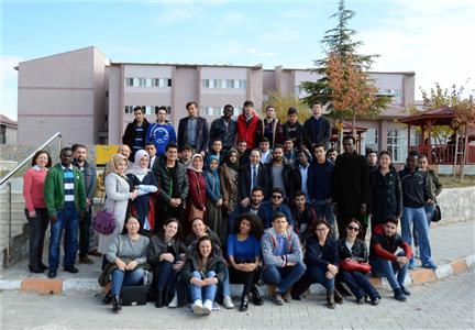 Rektörümüz Uluslararası Öğrencilerimizle Bir Araya Geldi
