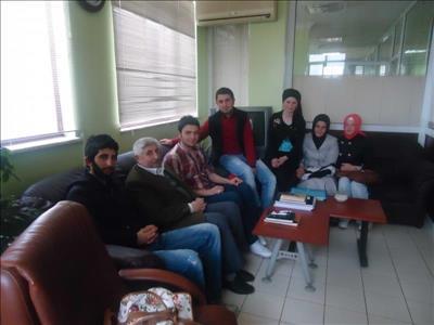 Türk Tarih ve Kültür Araştırmaları Kulübü Öğrencileri Ethem Erkoç'la Söyleşi Yaptı