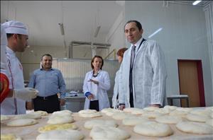 Üniversitemiz Kendi Ekmeğini Üreterek Ekmek İsrafında % 100'lük Bir Tasarruf Sağladı
