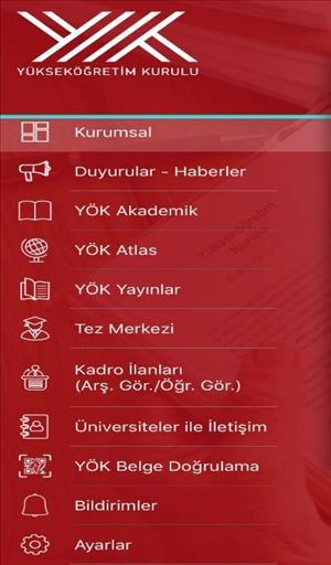 """Türk Yükseköğretimi ile İlgili Her Şey """"YÖK Mobil"""" ile """"Cep""""te"""