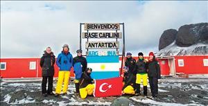 Türkiye'nin Antarktika Ekibi Sefer Notlarını Paylaştı