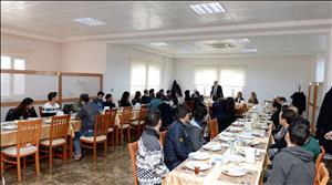 Rektörümüz Prof. Dr. Alkan Engelli Öğrenci Birimi Kahvaltı Programında Öğrencilerimizle Bir Araya Geldi