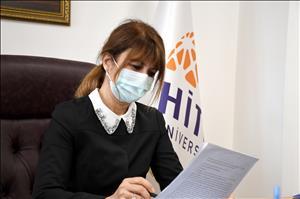 Rektör Yardımcımız Prof. Dr. Baykam, Maskenin Cezadan Değil, Virüsten Kaçmak İçin Kullanılması Gerektiği Uyarısında Bulundu