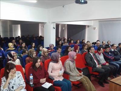 Sağlık Yüksekokulu'nda İstiklal Marşı'nın Kabulü ve Çanakkale Deniz Zaferi Kutlandı