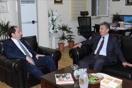 CHP Çorum Milletvekili Tufan KÖSE'den Rektör ALKAN'a Ziyaret