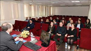 Rektörümüz SBKY Bölümü Öğretim Elemanlarıyla Bir Araya Geldi