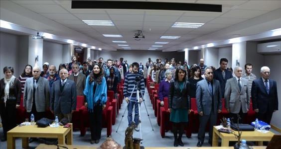 """Hasan Tuluk """"Sanatın Sesi""""ni Öğrencilerimizle Paylaştı"""