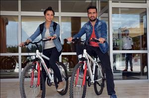 Üniversitemiz Bisiklet Kullanımını Teşvik Ediyor