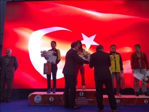 Rektörümüz 45. Uluslararası Yaşar Doğu Güreş Turnuvasına Katıldı