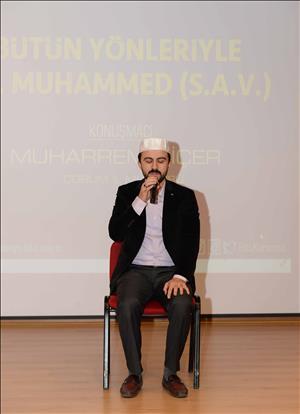 Bütün Yönleriyle Hz. Muhammed  (S.A.V.) Konulu Konferans Gerçekleştirildi