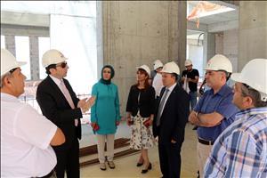 Rektörümüz Prof. Dr. Reha Metin Alkan'dan İlahiyat Fakültesi'ne Ziyaret