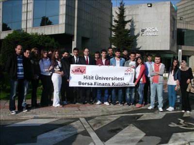 Üniversitemiz Borsa Finans Kulübü İstanbul'da Bir Dizi Ziyaret Gerçekleştirdi