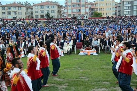 Mezuniyet Törenimizi Coşkuyla Kutladık