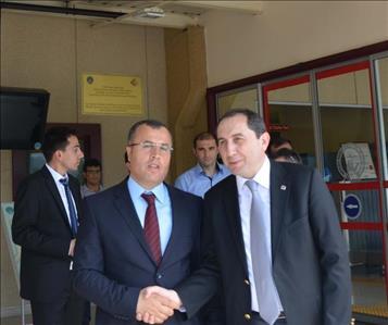 Rektörümüzden Amasya Merzifon Havalimanı Müdürüne Ziyaret