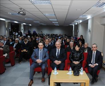 Fen Edebiyat Fakültemizde Dil ve İdeoloji Konulu Konferans Verildi