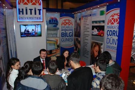 Üniversitemiz Tanıtımlarına Konya'da Devam Etti