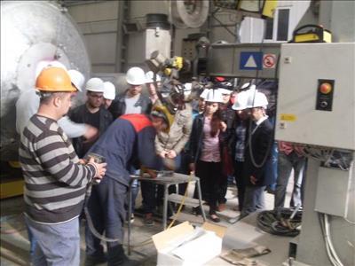 Makine Mühendisliği Öğrencilerine Teknik Gezi Düzenledi
