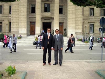 Üniversitemiz Kahire Üniversitesiyle İkili İşbirliği Anlaşması İmzaladı