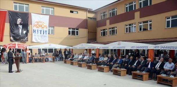 Çorum Meslek Yüksekokulu 2. Etap Temel Atma Töreni Gerçekleştirildi