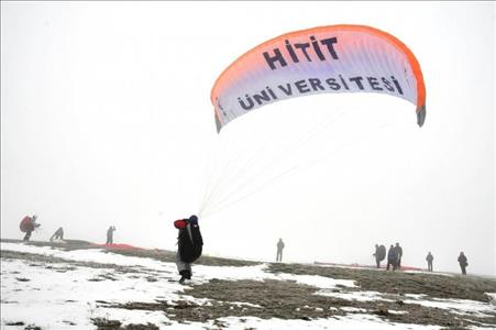 Our University Aviation and Model Aircraft Club Students Participated in Paragliding Activity