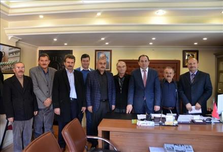A Visit to Çorum President of the Chamber of Agriculture by Our Rector