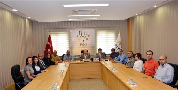 """""""2016 Üniversitelerarası Dünya Güreş Şampiyonası"""" Bilgilendirme Toplantısı Yapıldı"""