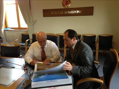 Rektörümüzden TBMM İçişleri Komisyon Başkanı Feyzullah KIYIKLIK'a Ziyaret