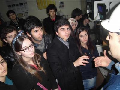 Metalurji ve Malzeme Mühendisliği Bölümü Öğrencileri İlk Teknik Gezilerini Yaptı