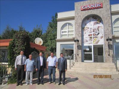 Rektörümüz İskilip MYO ve Ganik Şekerleme Fabrikasını Ziyaret Etti