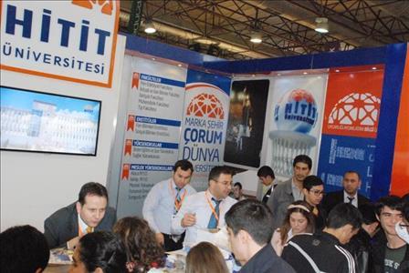 Üniversitemizi İzmir'de Tanıttık