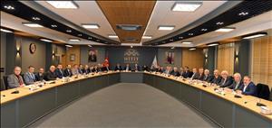 Üniversitemizin 2021-2025 Dönemi Stratejik Plan Hazırlık Çalışmaları İstişare Toplantısı Gerçekleştirildi