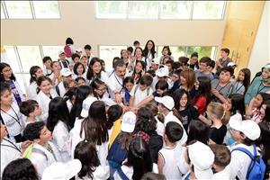 Rektörümüz HİTÜ Çocuk Üniversitesi Öğrencileriyle Bir Araya Geldi