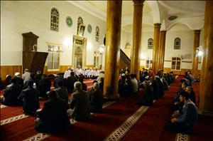 Ulu Camii'de Mevlid Programı Gerçekleştirildi