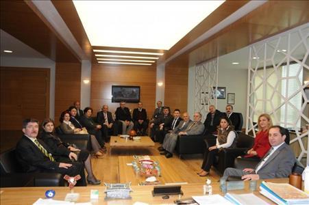 Kütüphane ve Dokümantasyon Daire Başkanları İşbirliği ve Koordinasyon Toplantısı Üniversitemizde Ya