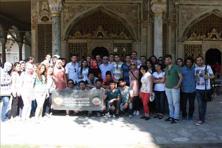 Türk Tarih ve Kültür Araştırmaları Kulübü Öğrencileri İstanbul'u Ziyaret Etti
