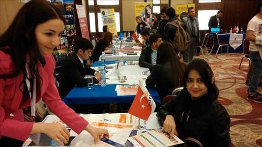 Üniversitemiz Azerbaycan'da Tanıtıldı