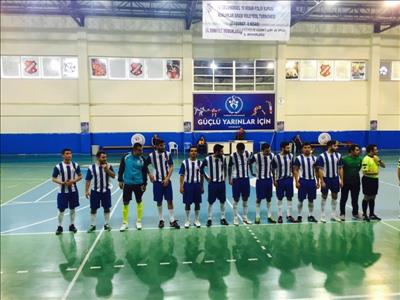 Ünilig Futsal Müsabakasında Öğrencilerimizden Başarı
