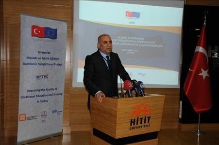 MYO'larda Kalite: Mevcut Durum, Sorunlar ve Çözüm Önerileri Konferansı Başladı