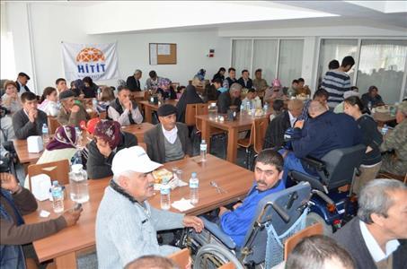 Üniversitemiz Alaca MYO'da Engelliler Haftası Unutulmadı