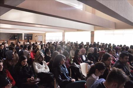 """""""Engelsiz Üniversite Farkındalık Buluşmaları""""nın Üçüncüsü Osmancık Ömer Derindere MYO'da Düzenlendi"""