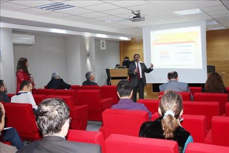 Fen Edebiyat Fakültesi'nde Yeni Otomasyon Sistemiyle İlgili Toplantı Yapıldı