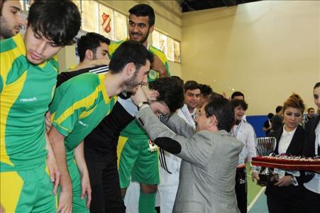 Üniversitelerarası Salon Futbolu Playoff Müsabakaları Tamamlandı
