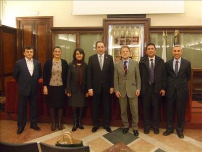 Üniversitemiz ile Bologna Üniversitesi Arasında İşbirliği