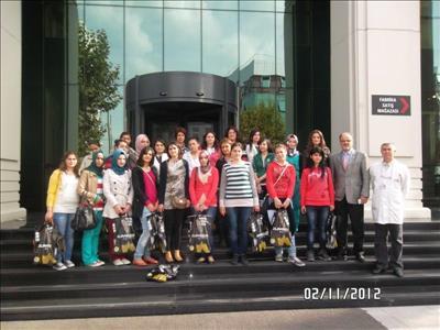 Üniversitemiz Tekstil Teknolojisi Bölümü İstanbul'a Teknik Gezi Düzenledi