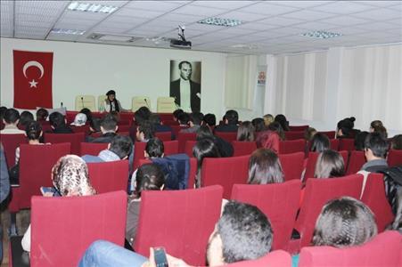 Yazar Mürvet SARIYILDIZ Üniversitemizde