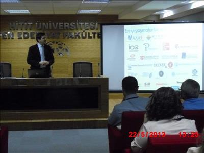 Üniversitemizde Scifinder ve Ithendicate Eğitim Toplantısı Gerçekleştirildi