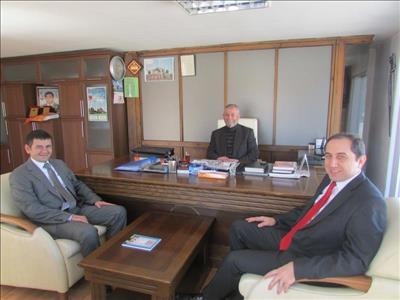 Üniversite Sanayi İşbirliği Çerçevesinde Rektörümüz Prof. Dr. Reha Metin ALKAN Ziyaretlerine Devam